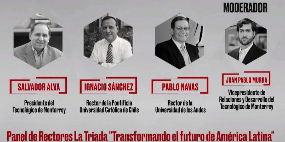 Panel de Rectores La Triada, CIIE 2018